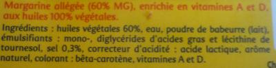 Planta Fin Doux Tartine & cuisson (60 % MG) - Ingrediënten - fr