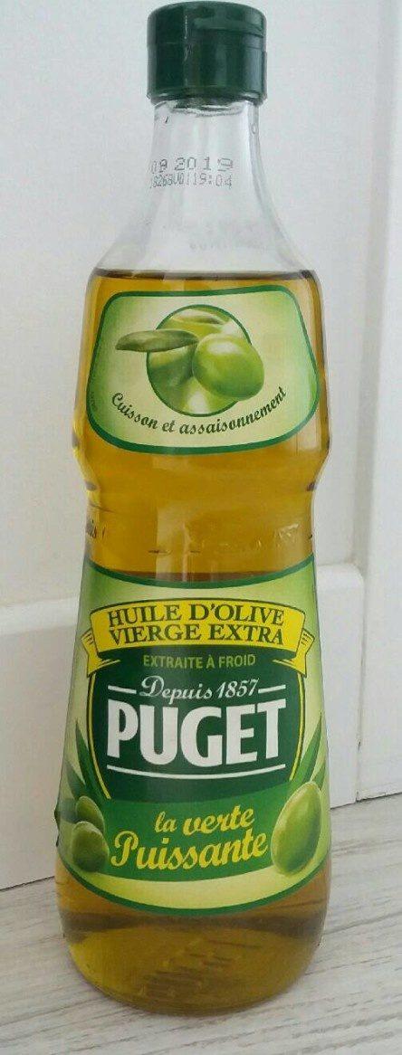 La verte Puissante Huile d'olive vierge extra - Produit - fr