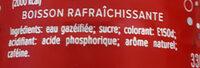 planet cola - Ingrediënten - fr
