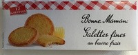 Galettes Butter Crunch Biscuits - Prodotto - fr