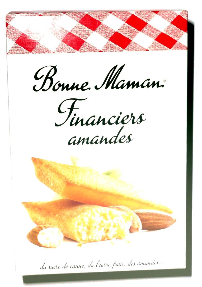 Bonne Maman Financiers amandes - Product - fr