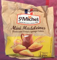 Mini madeleines traditional french sponge cakes - Product - en