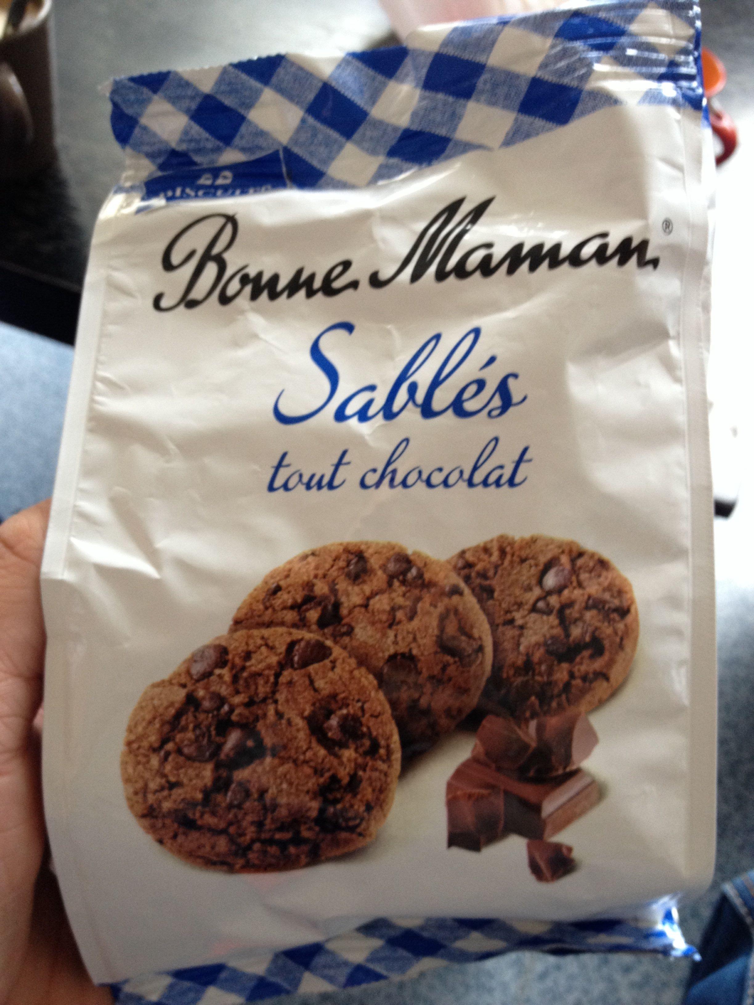 Sablés tout chocolat - Product