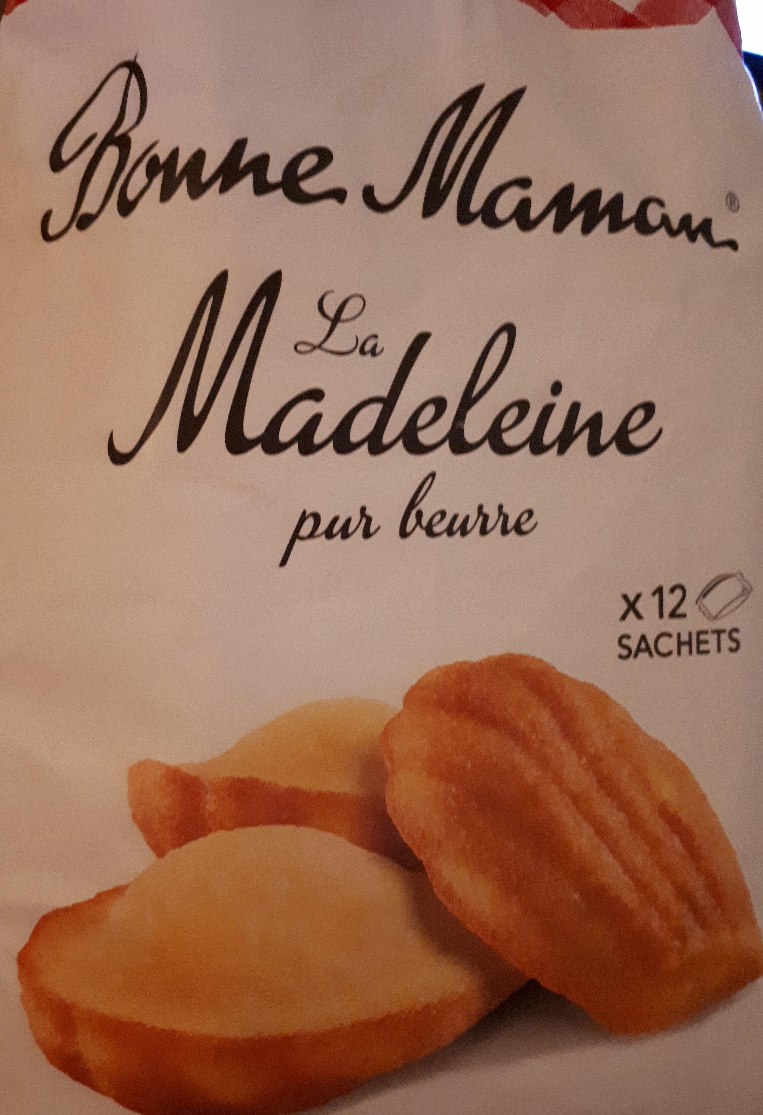 La Madeleine Pur beurre - Produit - fr