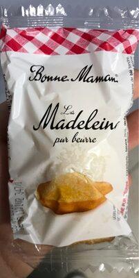 La Madeleine au beurre frais - Product - fr