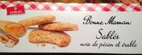 Sablés noix de pécan et érable - Product