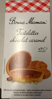 Tartelettes Chocolat Caramel - Produit - fr