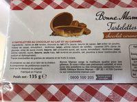 Tartelettes A la framboise - Ingredienti - fr
