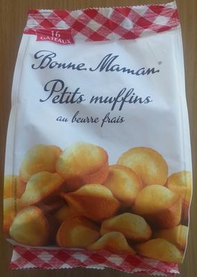 Petits muffins au beurre frais - Produkt - fr
