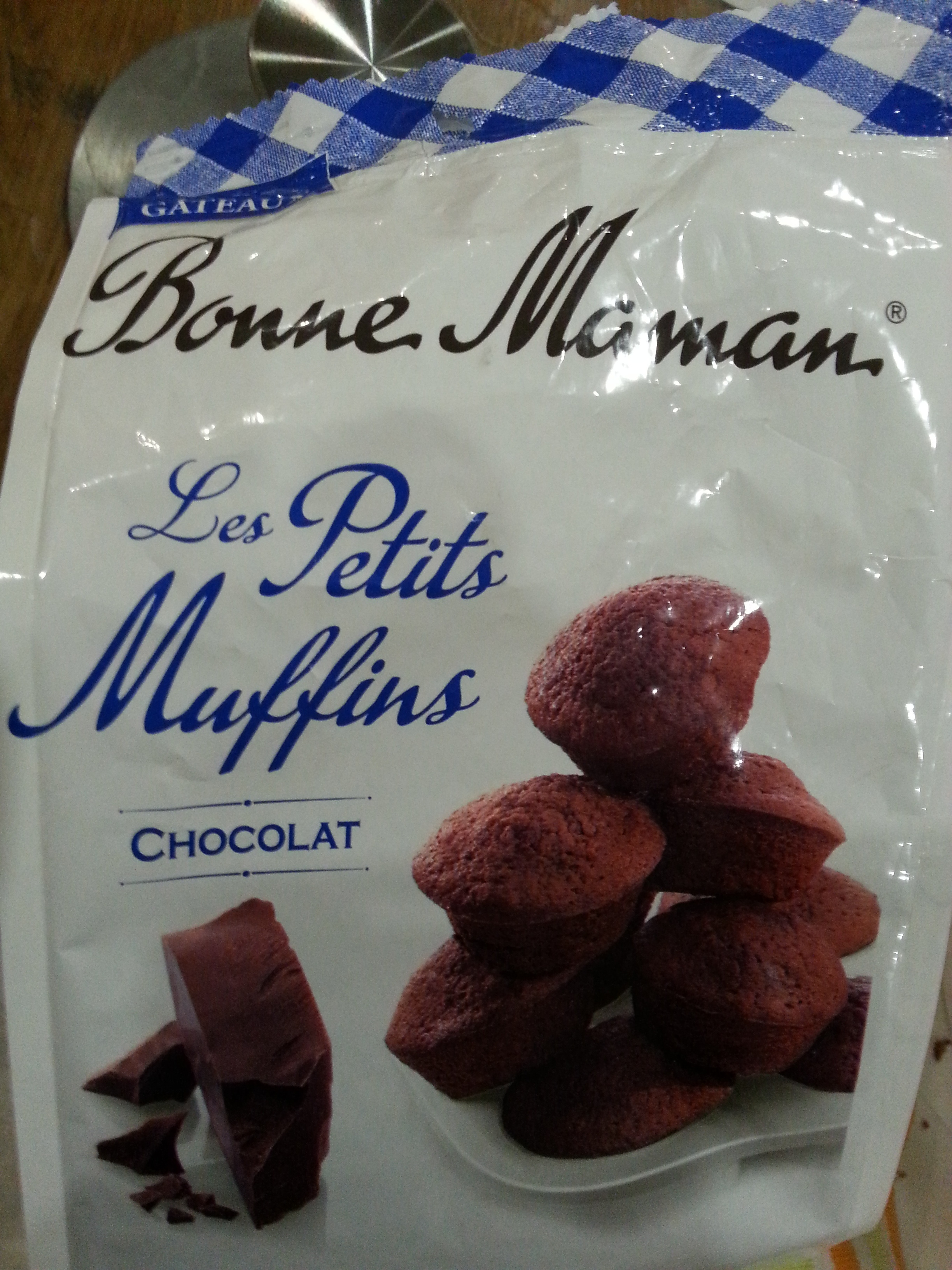 Les Petits Muffins chocolat - Product