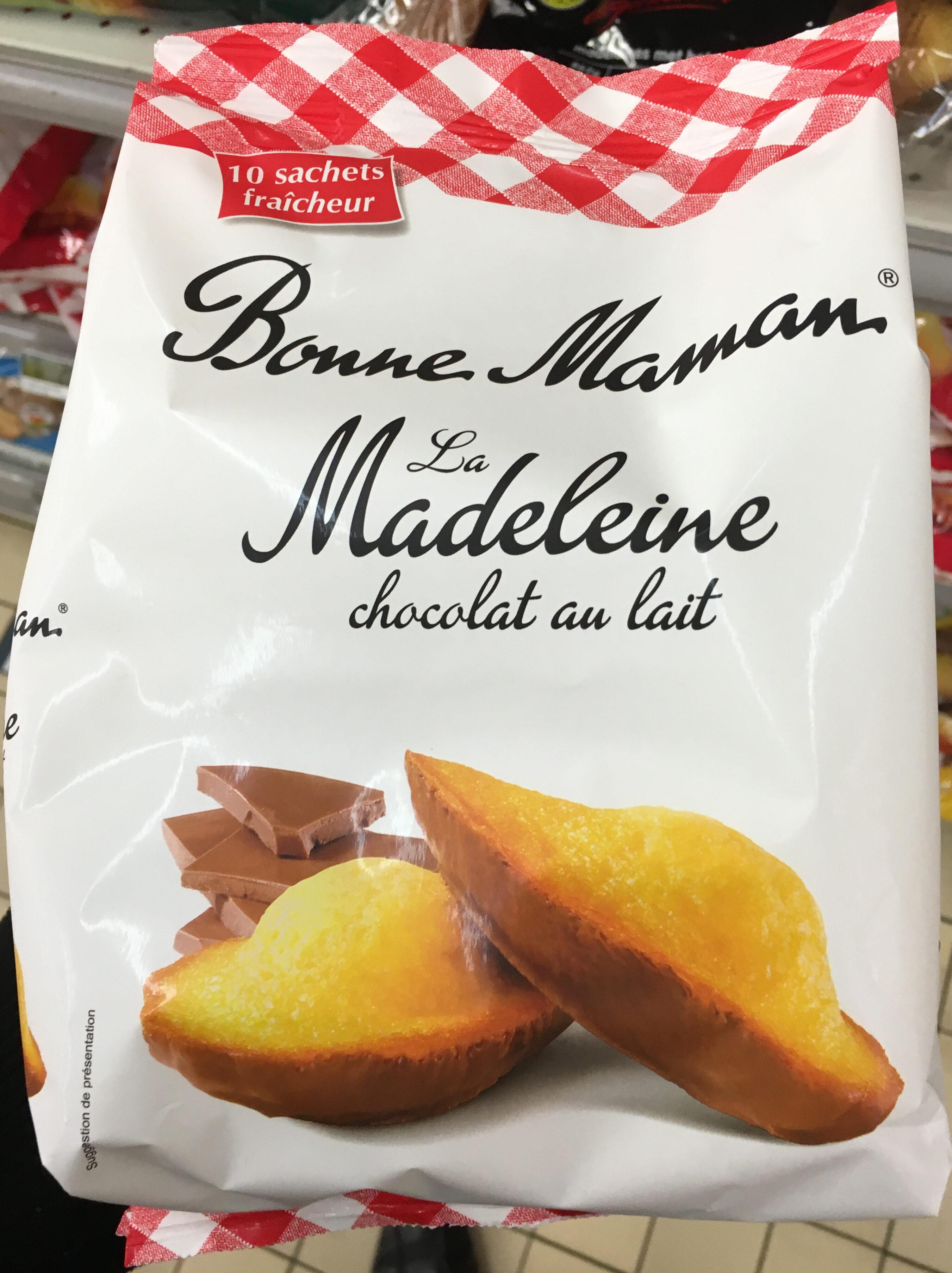 La madeleine chocolat au lait. - Product - fr