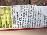 Madeleines - Ingrediënten