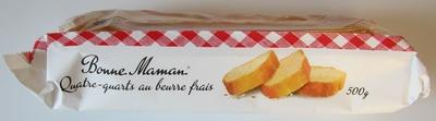 Quatre-quarts au beurre frais - Product