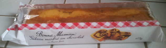 Gâteau marbré au chocolat - Product - fr