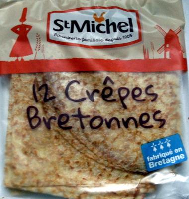 12 crêpes bretonnes - Product - fr