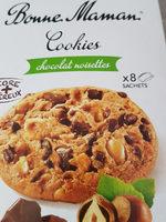 Cookies Noisettes aux gros éclats de chocolat - Produit