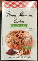 Cookies Chocolat Noisettes aux gros éclats de chocolat - Product - fr