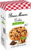 COOKIES CHOCOLAT NOISETTES - Product - fr