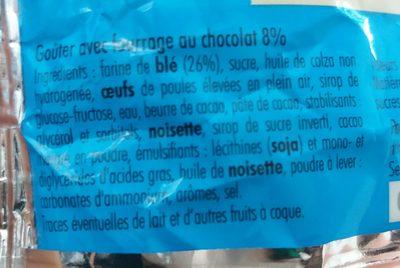 Tronches de Cake - Ingrediënten - fr