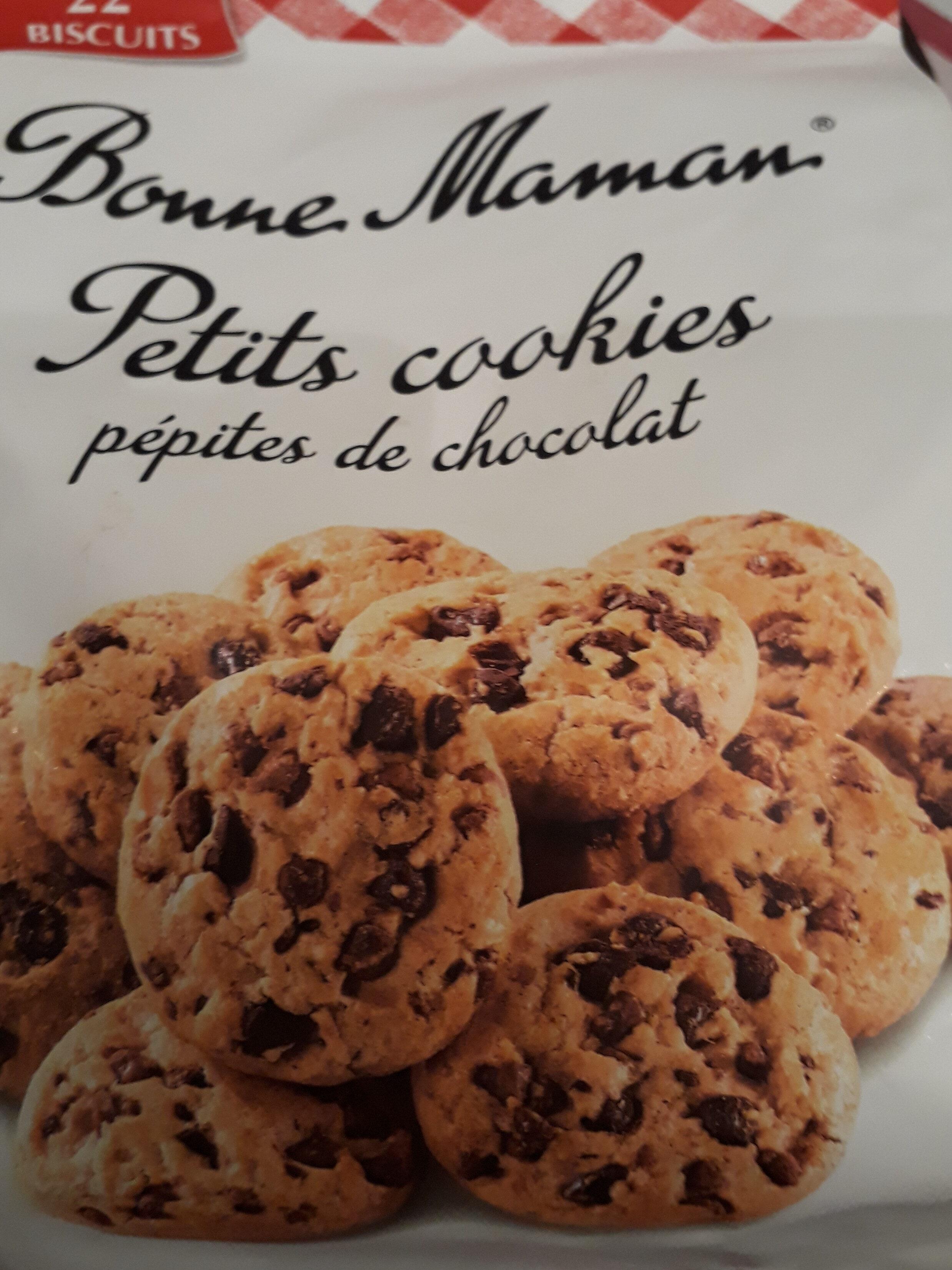 petits cookies pépites de chocolat - Product - fr