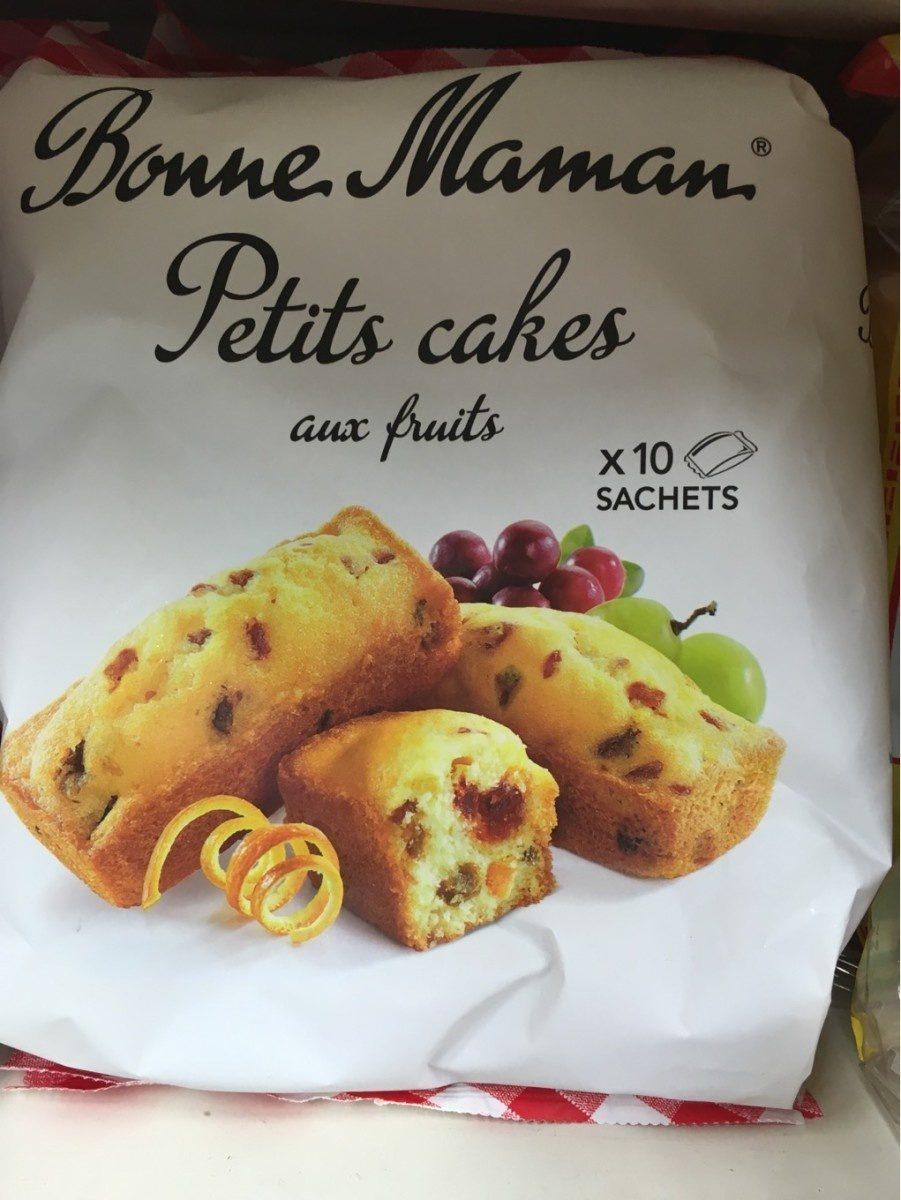 petit cake aux fruits - Продукт - fr