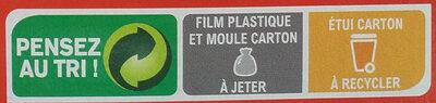 Brownie au chocolat - Instruction de recyclage et/ou informations d'emballage - fr
