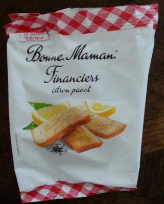 Financiers citron pavot - Product - fr