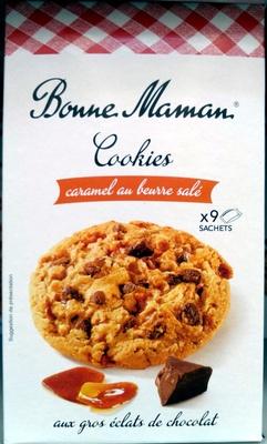 Cookies Caramel au beurre salé aux gros éclats de chocolat - Prodotto - fr