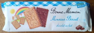 Monsieur Biscuit chocolat au lait - Produit