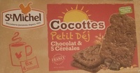 Cocottes Petit Déj Chocolat & 5 céréales - Product