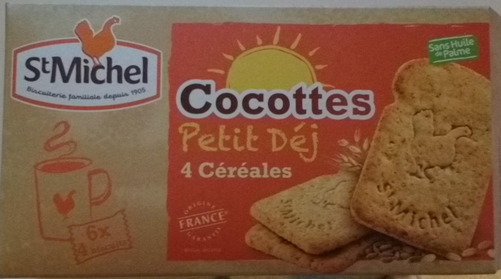 Cocottes Petit Déj 4 céréales - Product