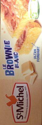 Le brownie blanc - Produit - fr
