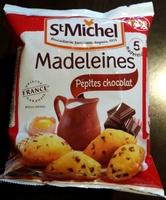 Madeleines Pépites Chocolat - Produit