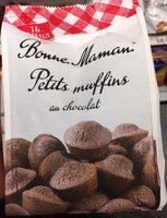 Petits muffins au chocolat - Produit