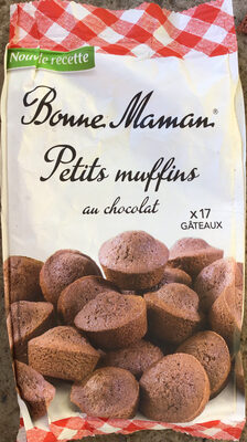 Bonne maman petits muffin au chocolat - Produit - fr