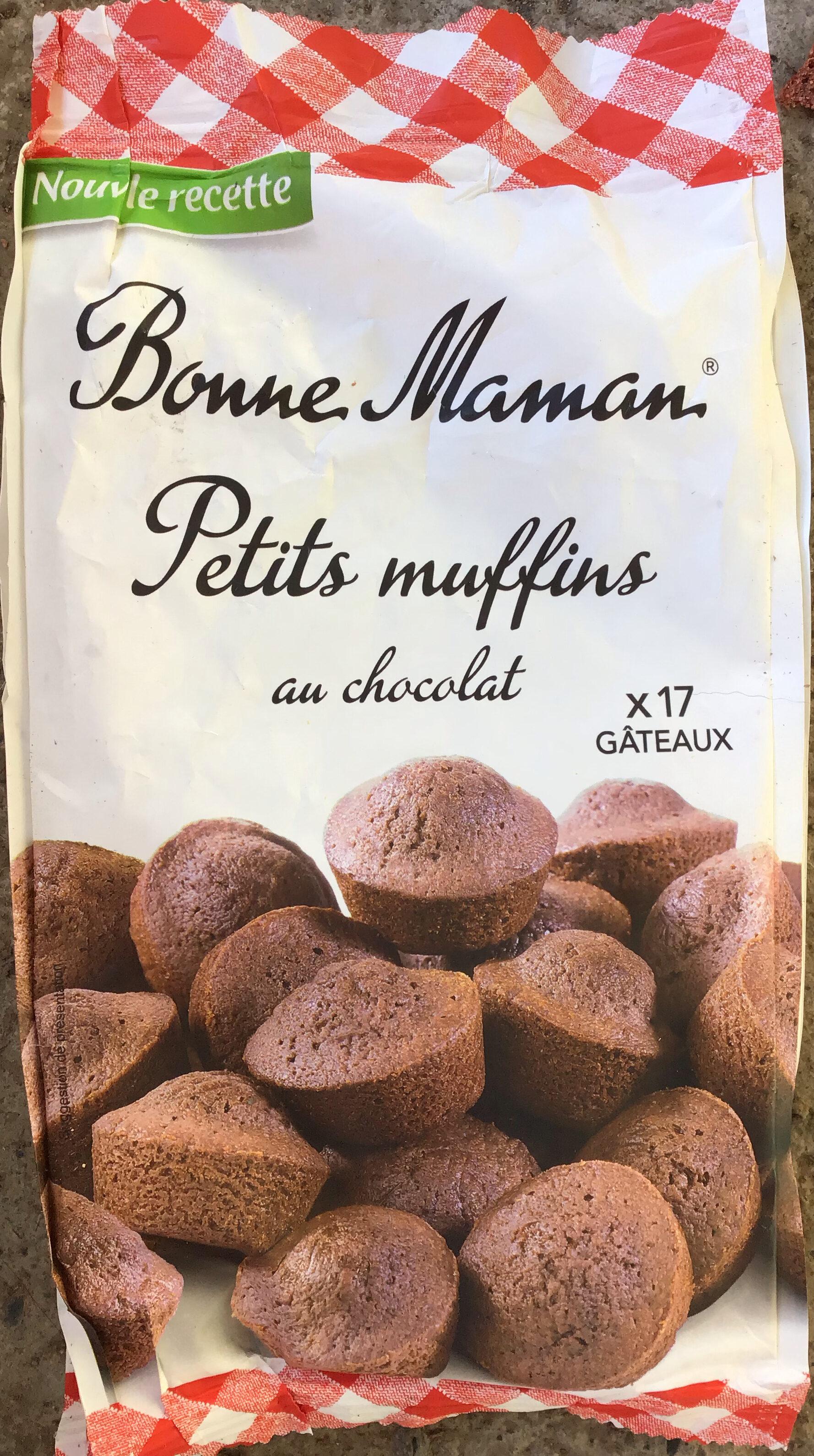 Petits muffins au chocolat - Product - fr