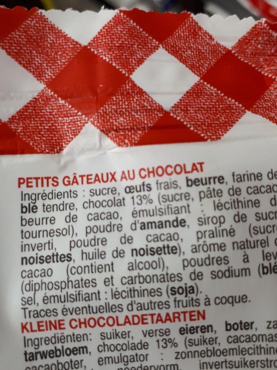 Petits muffins au chocolat - Ingrédients