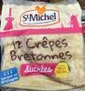 12 Crêpes Bretonnes sucrées - Product
