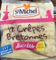 12 Crêpes Bretonnes sucrées - Produit
