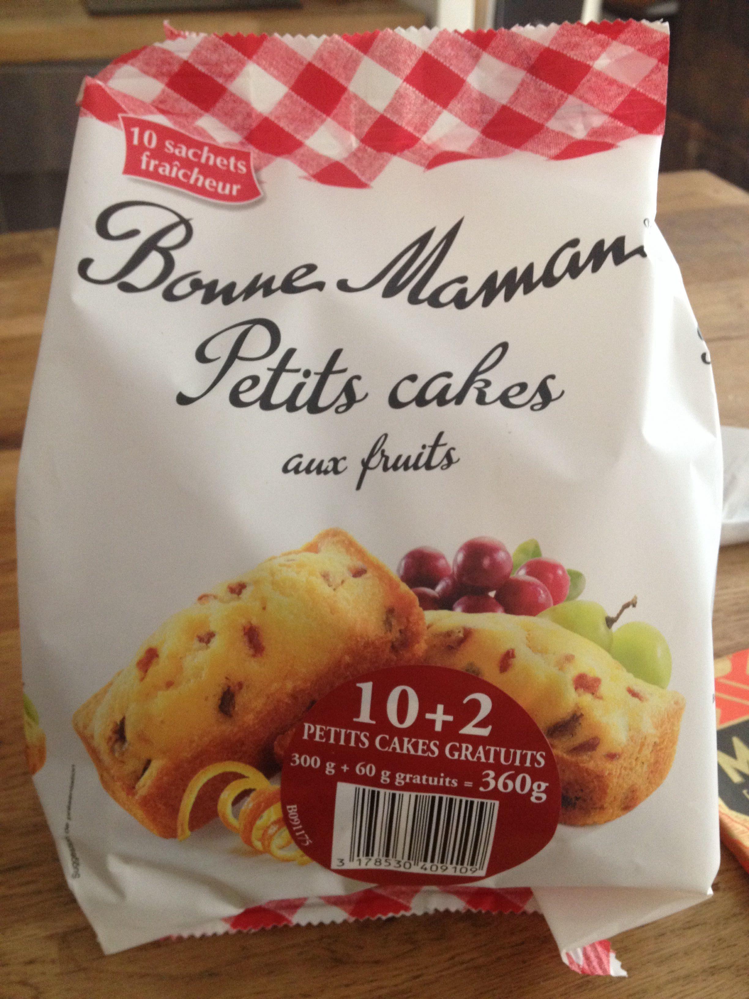 Petits cakes aux fruits - Product - fr