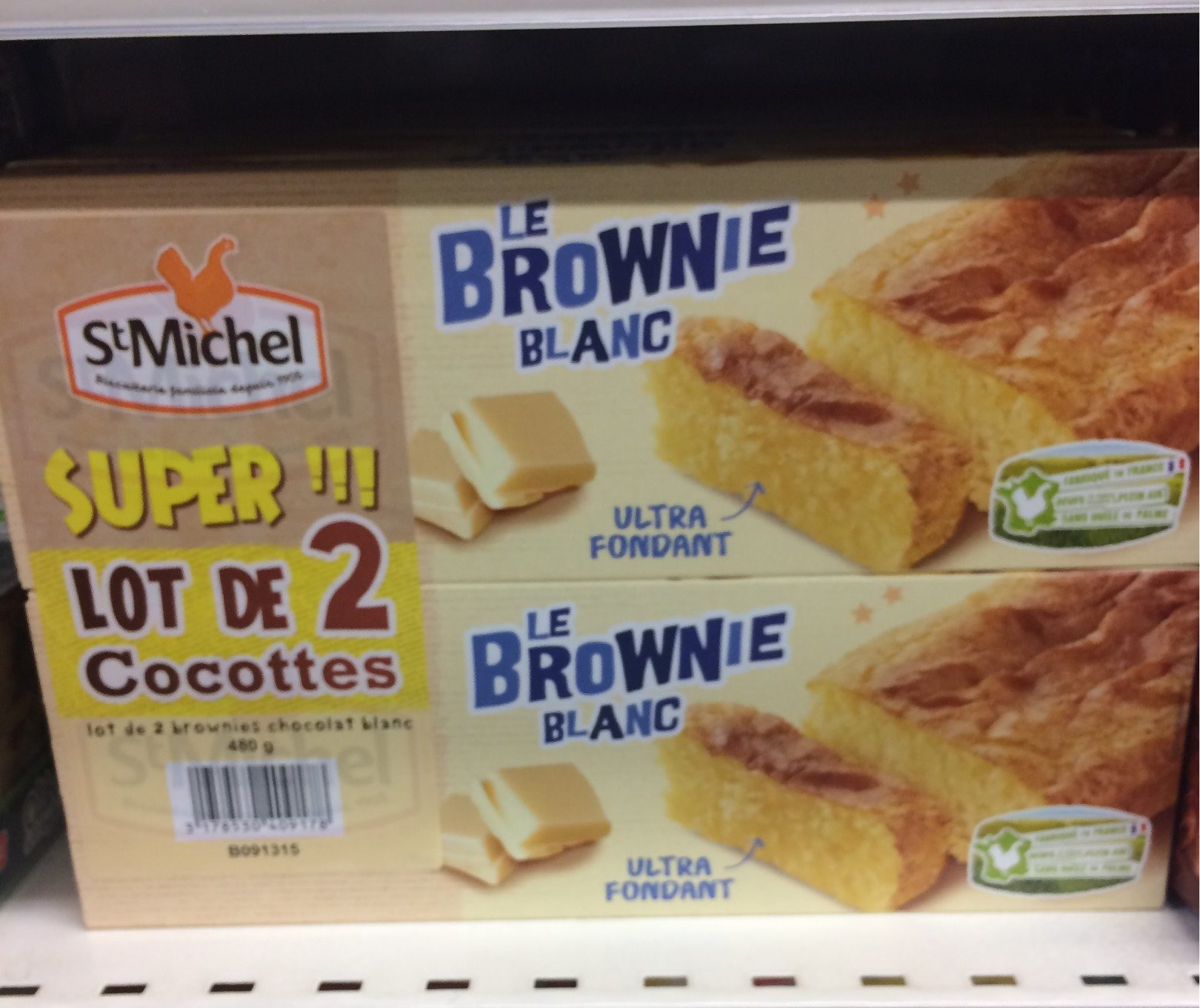 Le Brownie Blanc - Product