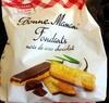 Fondants noix de coco chocolat - Product