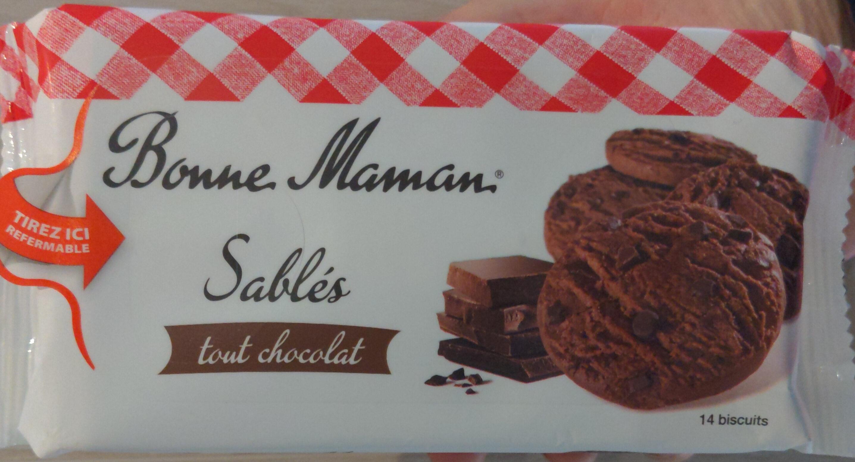 Sablés tout chocolat - Prodotto - fr