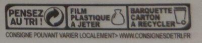 Sablés tout chocolat - Istruzioni per il riciclaggio e/o informazioni sull'imballaggio - fr