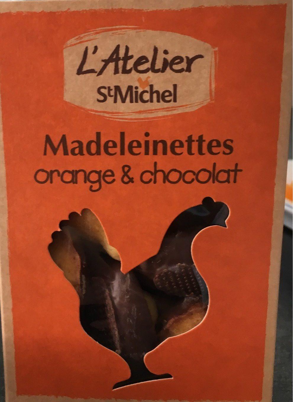 Madeleineinettes orange et chocolat - Produit