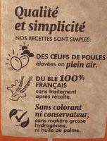 Madeleineinettes orange et chocolat - Ingrédients