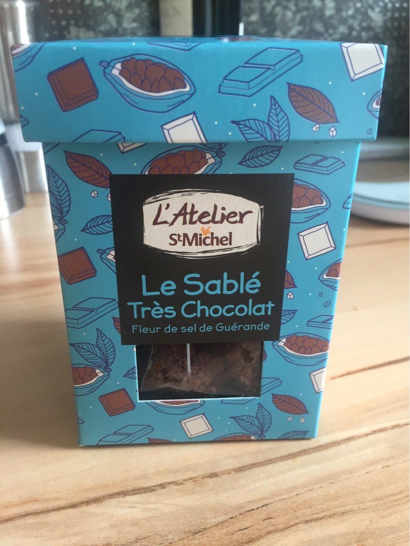 Le Sablé très chocolat Fleur de sel de Guérande - Produit - fr