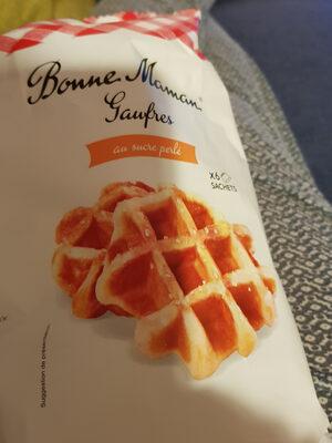 gaufres au sucre perlé - Prodotto - fr