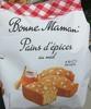 Pains d'épices au miel - Product