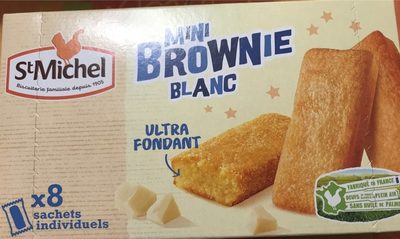 Mini Brownie Blanc - Produit